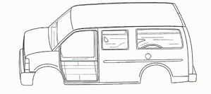 full size van cut sheet