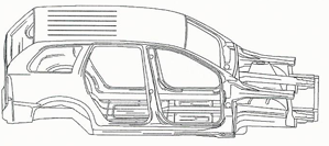 SUV cut sheet