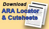 download ara cut sheets & damage locator
